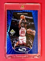 Michael Jordan RARE BLUE STARQUEST INSERT 1998 UPPER DECK FOIL #SQ30 - Mint!