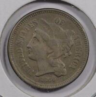 1866 Three Cent Nickel Extra Fine #151458