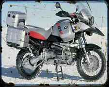 Bmw R1150Gs Adv A4 Photo Print Motorbike Vintage Aged