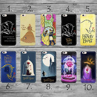 Disney Beauty and The Beast THIN case cover iPhone 4s 5c 5 5s SE 6 6s 7 8 plus +