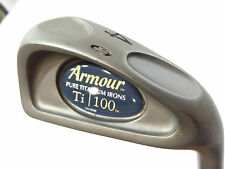 Tommy Armour Ti 100 Pure Titanium 4 Iron With Light Flex Graphite Shaft
