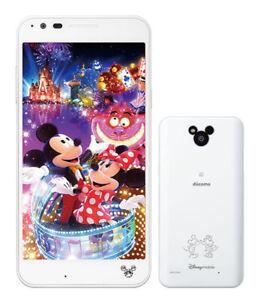 LG Disney Mobile on docomo DM-02H Android Phone Unlocked White used