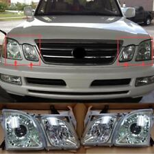 Left & Right Front Head lamp Headlights Assembly Set For LEXUS LX470 1998-2007