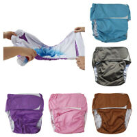 Adults Diaper Waterproof Reusable Short Pants Diapers for Patients Elderly