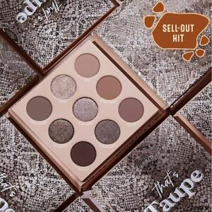 100% Genuine ColourPop Eyeshadow Palette - THAT'S TAUPE - Brand New!