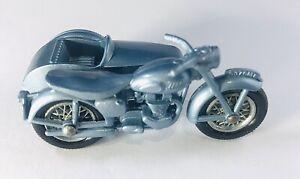 Matchbox Lesney 4 Triumph Motorcycle Sidecar Mint In Box