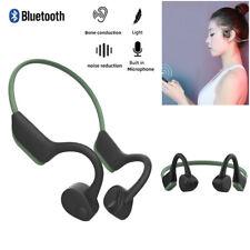 Bone Conduction Bluetooth 5.0 Wireless Headset Gym Sport Earphone for Cellphones