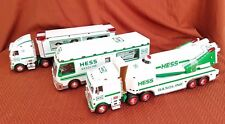 Hess Toy Trucks Lot of 3, 1997 - 1999 New Old Stock w/ boxes