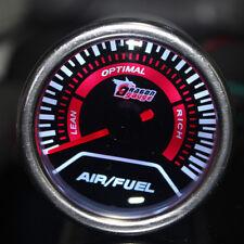 "2"" 52mm Car Universal Pointer Air/Fuel Ratio Gauge Meter Smoke Tint Len LED"