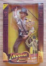 "Indiana Jones Raiders of the Lost Ark Whip Cracking 12"" Inch Doll 2008 C-10 MIMB"