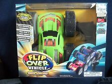 Flip Over Vehicle Extreme Radio Controlled Working Headlights New in box Green