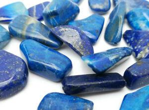 Lapis Lazuli Anhänger glatt- mit Ösenloch - TOP aus Afghanistan - Handgefertigt
