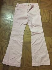 Abercrombie & Fitch pink stretch pants size 4 regular