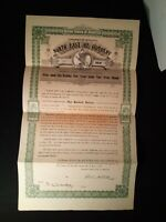 1919 North East Ice Company Pennsylvania $100 Dollar Bond Certificate