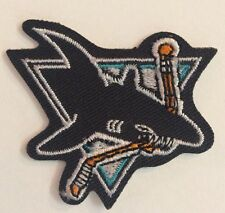 "San Jose Sharks NHL Logo  / Crest Patch 3"""" Inch Round Iron On/ Sew On"