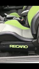 Ford Focus RS Mk2 Side,Seat Plates,carbon Fibre Effect