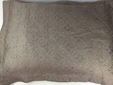 "Peacock Alley Couture Egyptian Cotton/Silk Matelasse Euro Pillow Sham 30""x 24"""