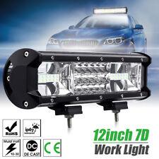 12inch 324W LED Work Light Bar Flood Spot Combo Truck SUV 4WD Off Road