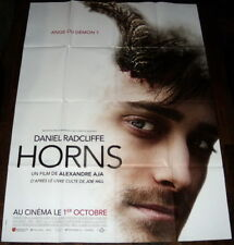 HORNS  Daniel Radcliffe Joe Hill Max Minghella Alexandre Aja LARGE French POSTER