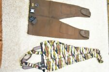 Fly Fishing Hunting Wader Lot 2 XL Pant (Cabellas) Strap (Unmarked) Size XL RJ1