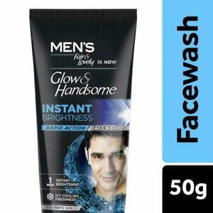 Fair & Lovely Men's Instant Fairness Rapid Action Face Wash - 50g