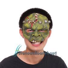 Kids Boy Man Half Face Latex Soft Eye Mask Halloween Party Fancy Dress Costume