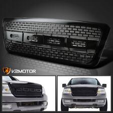 2004-2008 Ford F150 Black ABS Raptor Style Front Bumper Upper Hood Grille