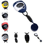 NEW Functional Digital Handheld Sports Pocket Stop Watch Alarm Mini Watches