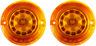 Custom Dynamics Probeam LED Amber Turn Signal Insert Kit PB-A-1156-T