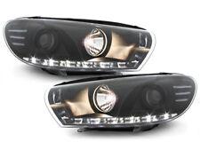 VW Scirocco 3 Scheinwerfer LED Tagfahrlicht schwarz+ECE R87 Zulassung SWV33LGXB