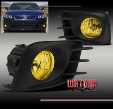 2011 2012 2013 SCION TC BUMPER YELLOW FOG LIGHT LAMP+BULB+HARNESS+SWITCH NEW SET