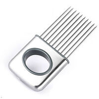 Onion Holder Slicer Vegetable Tools Tomato Cutter Stainless Steel Kitchen Tackle