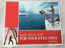 Original 1981 For Your Eyes Only James Bond 007 Lobby Card Fleming #2
