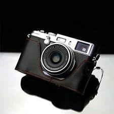 Gariz XS-CHX100MBK Leather Half Case for Fuji Fujifilm X100, X100s, x100t