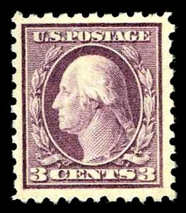 US# 464 W&F  FLAT PLATE ISSUES OF 1916 - OGXLH - VF - $70.00 (ESP#0411)