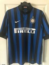 Internazionale Inter Milan Home Shirt 2011/12 By Nike Size Large