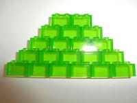 LEGO CLASSIC  20 transparente Bausteine 3065 hellgrün 1x2 Noppen  NEUWARE