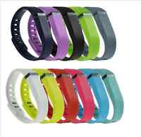 Replacement Wristband Band Silicone Bracelet W/ CLASSIC BUCKLE For Fitbit Flex