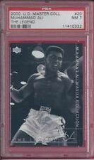 2000 Upper Deck Master Collection #20 Muhammad Ali The Legend # 005/250 PSA 7