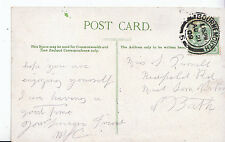 Genealogy Postcard - Family History - Purnell - Midsomer Norton - Bath   9475