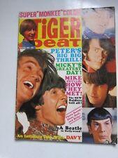 Tiger Beat Nov 1967 Monkees Beatles The Who Leonard Nimoy