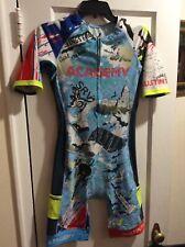 Austin Texas Triathlon Suit Mens Size Medium by Rocket Science Sports EUC