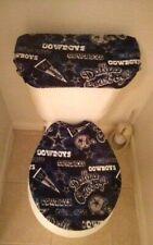 Dallas Cowboys Retro Fleece Toilet Seat and Tank Top Cover Set