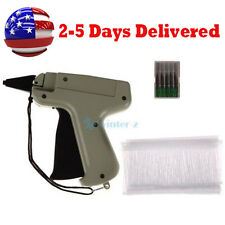 Tagging Gun System 5 Steel Needles 1100 Barbs Kimble Tag Label for Clothes Sock