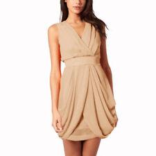 V-Neck Dry-clean Only Sleeveless Dresses for Women