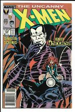 Uncanny X-Men # 239 / 1st Cover Appearance of Mr. Sinister / Newsstand Edition