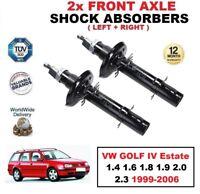 2 x Amortisseurs avant pour VW GOLF IV BREAK 1.4 1.6 1.8 1.9 2.0 2.3 1999-2006