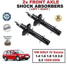2x ant. AMMORTIZZATORI per VW GOLF IV Station wagon 1.4 1.6 1.8 1.9 2.0 2.3