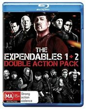The Expendables / Expendables 2 (Blu-ray, 2012, 2-Disc Set) New, D39 With UV