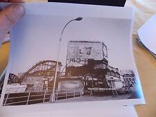 1960s thunderbolt Roller Coaster Coney Island Fire Brooklyn NYC New York Photo